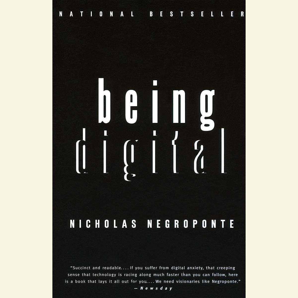 Being Digital - Audiobook