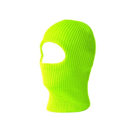 1 One Hole Ski Mask (Solids & Neon - Neon Green Outfit Ideas