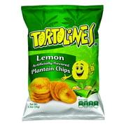 Wise Tortolines Lemon Plantain Chips