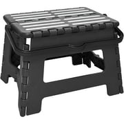 Simplify Striped Folding Step Stool with Handle