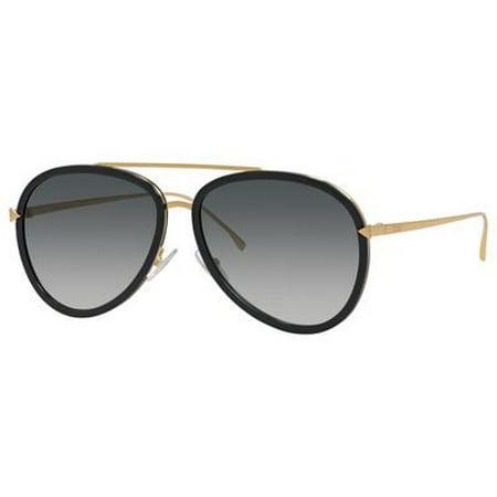 dd59ddfaea4d Fendi - Fendi Funky Angle FF 0155 MY2 Unisex Aviator Sunglasses -  Walmart.com