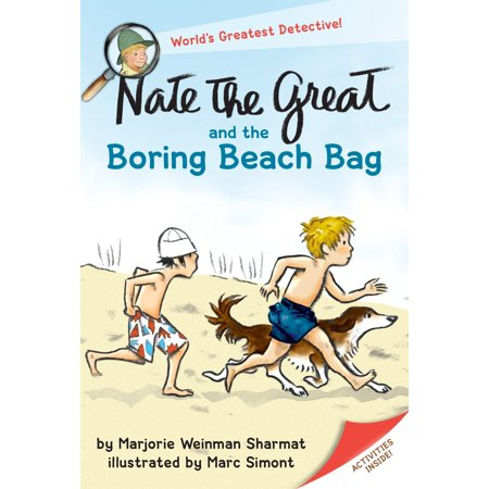 Nate the Great and the Boring Beach Bag (Paperback)](Nate The Great Halloween Hunt)