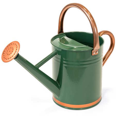 Best Choice Products Galvanized Steel 1 Gal. Watering Can - Green (Watering Can)