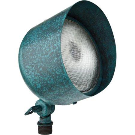 Dabmar Lighting LV30-AG Solid Brass Directional Flood Light with Hood, Acid Green