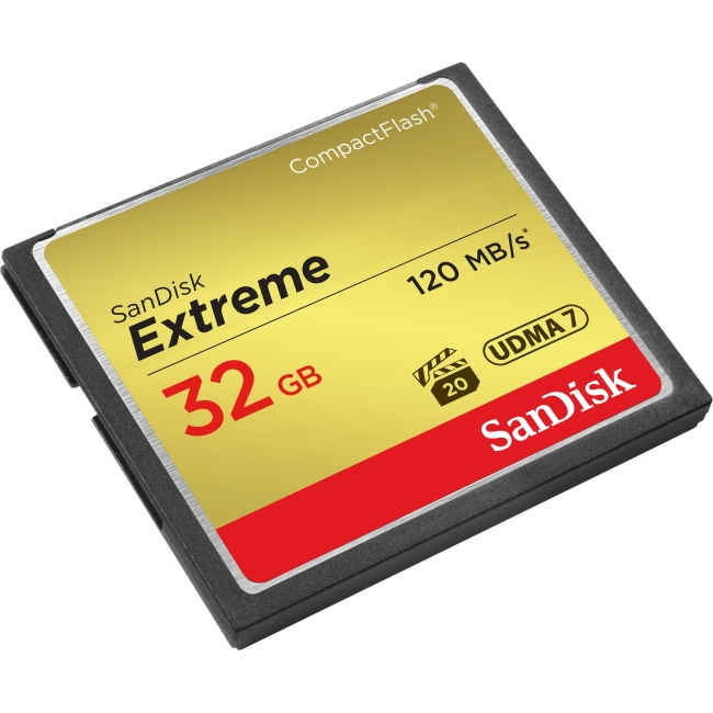 SanDisk Sdcfxs-032g-a46 Extreme CompactFlash Memory Card, 32GB