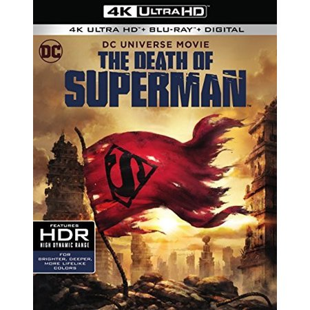 DCU: The Death Of Superman (4K Ultra HD + Blu-ray + Digital