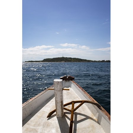 Laminated Poster Sailboat Boat Sea Cruise Travel Ocean Sail Poster Print 11 x