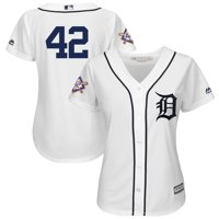 Detroit Tigers Majestic Women's 2019 Jackie Robinson Day Official Cool Base Jersey - White