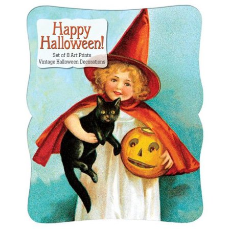 Happy Halloween - Vintage Decoration Print Set