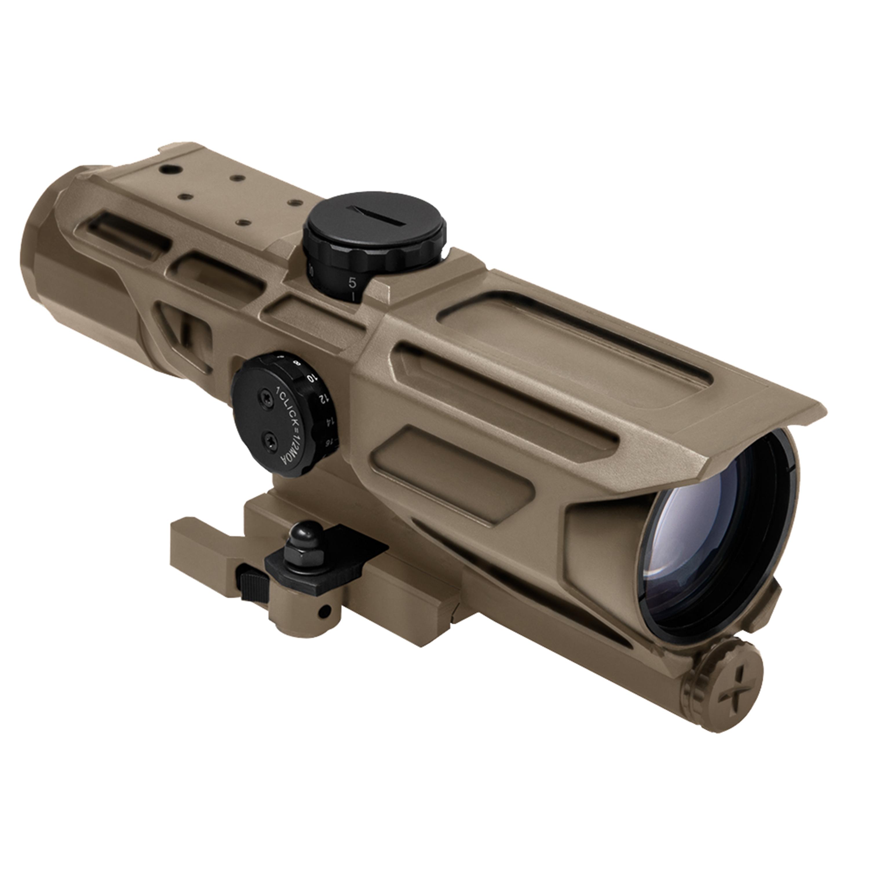 NcStar Mark III Tactical Compact Scope Gen 3, Mil Dot Reticle