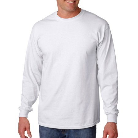 Gildan G2400 Ultra Comfort Long Adult T-Shirt -White-Small (Ps2 Shirt)