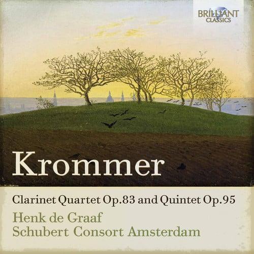 Clarinet Quartet Op.83 & Quintet Op.95 by