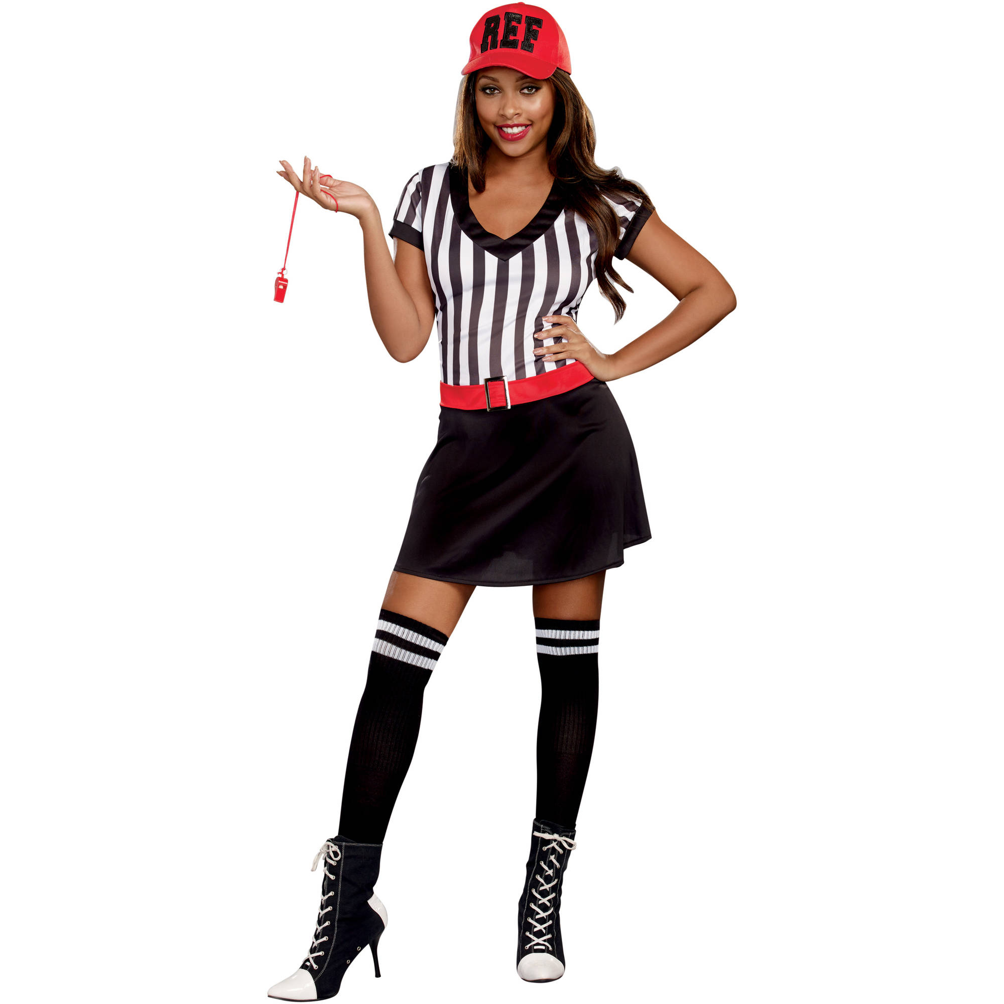 Racy Ref Adult Women's Halloween Costume