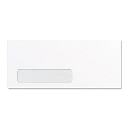 10 white left window envelopes size 4 1 8 x 9 1 2 for 10 window envelope size