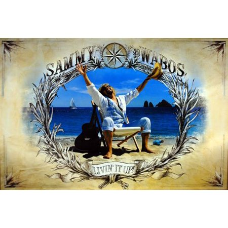 """Sammy Hagar And The Wabos Poster, 24"""" x 36"""""""
