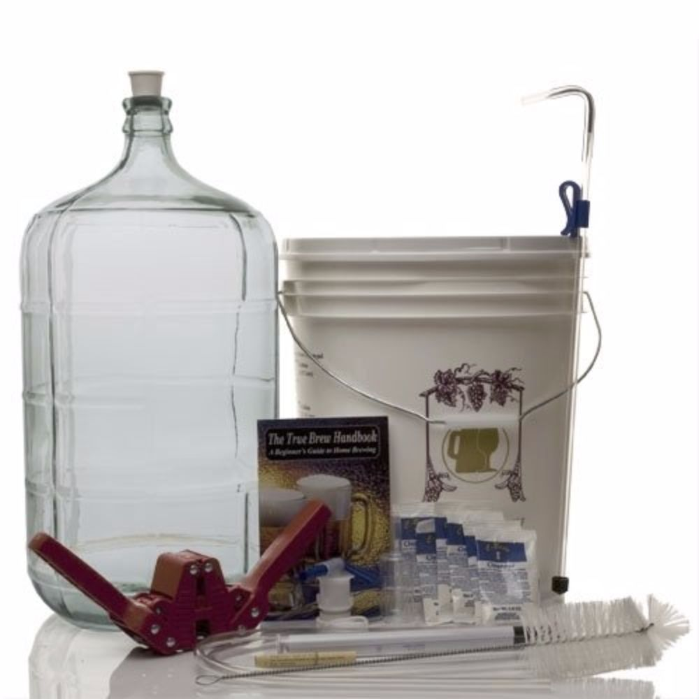 Gold Complete Beer Equipment Kit (K6+) plus with 6 Gallon...