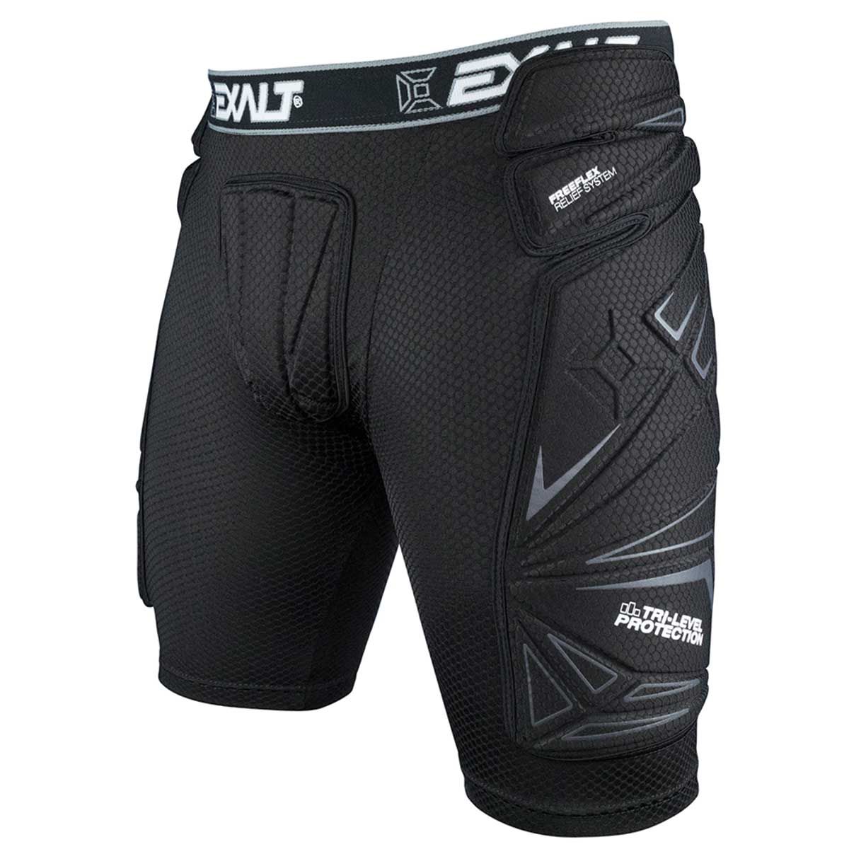 Exalt Paintball FreeFlex Slide Shorts - Black