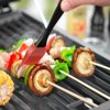 "Expert Grill 12"" Natural Bamboo Skewers for Grilling , 100 Count"