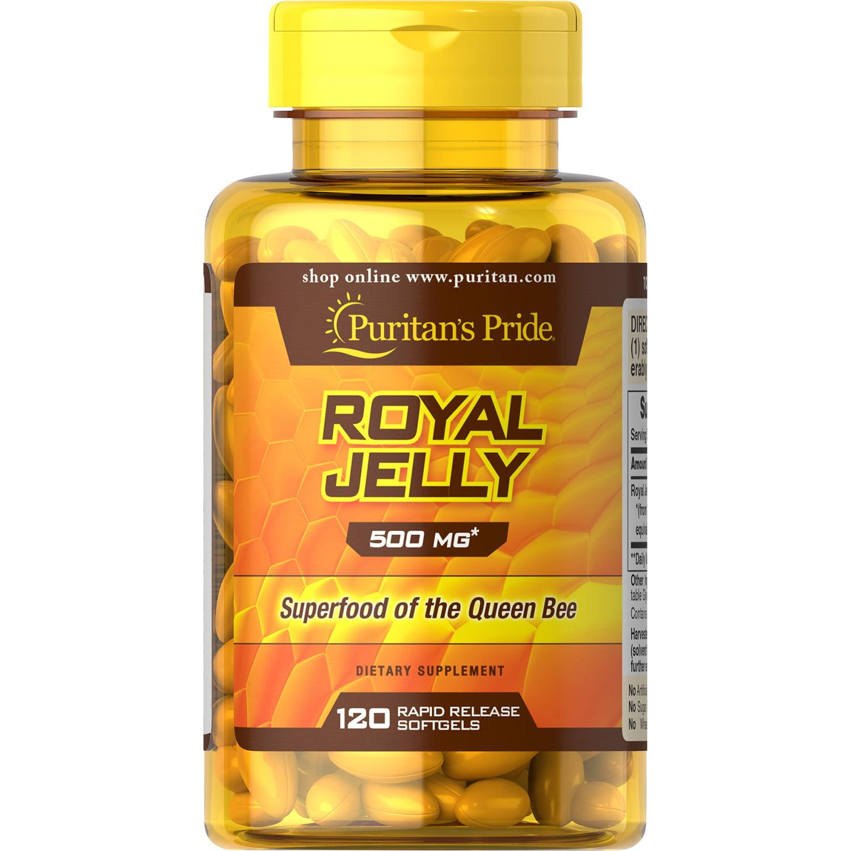 Puritans Pride Royal Jelly 500 mg120 Softgels