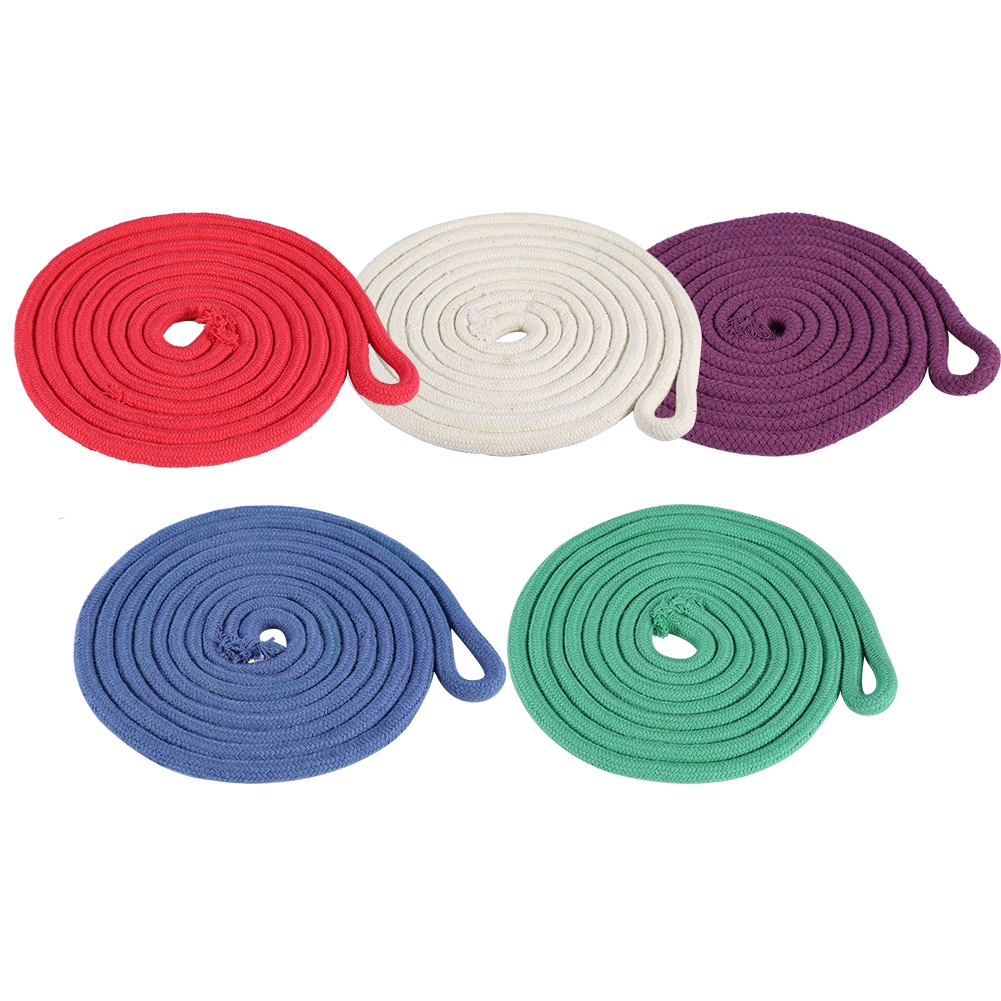 Dilwe Gymnastics Sports Rope,5 Colors Solid Durable Gymnastics Arts Rope Fitness Exercise Sports Training Rope,Training Rope