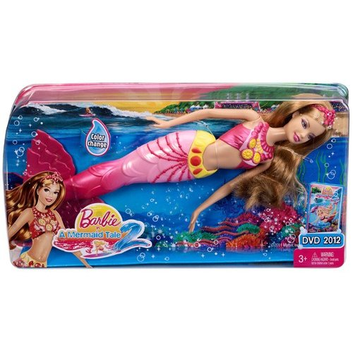 Barbie In A Mermaid Tale 2 Doll, Pink Outfit