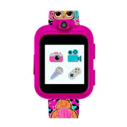 LOL Surprise! PlayZoom Girls Smart Kids Watch: Fuchsia Spring Fling Splatters & Neon Q.T. Print