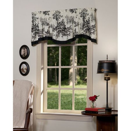 Bouvier Swoop Valance by Thomasville At Home (Thomasville Barcelona Creme)