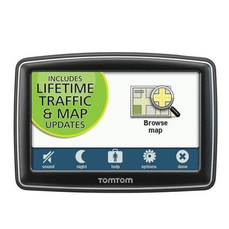 Refurbished Like New  TomTom XXL 550TM 5-Inch Portable GPS Navigator Lifetime Traffic and Maps Edition ()