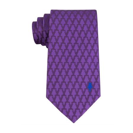 Dreamworks Mens Branch Silhouette Necktie purple