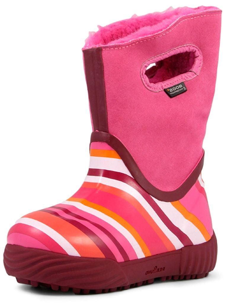 Bogs Boots Girls Kids Prairie Stripes Waterproof 71837 by Bogs