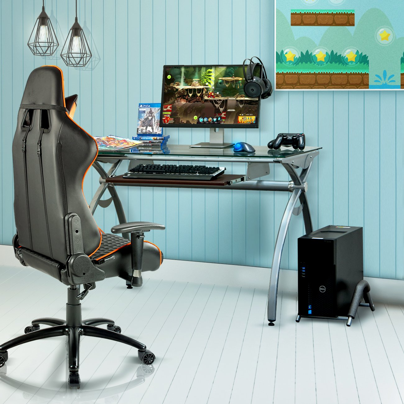 Gaming Desk - Techni Sport Arcadia