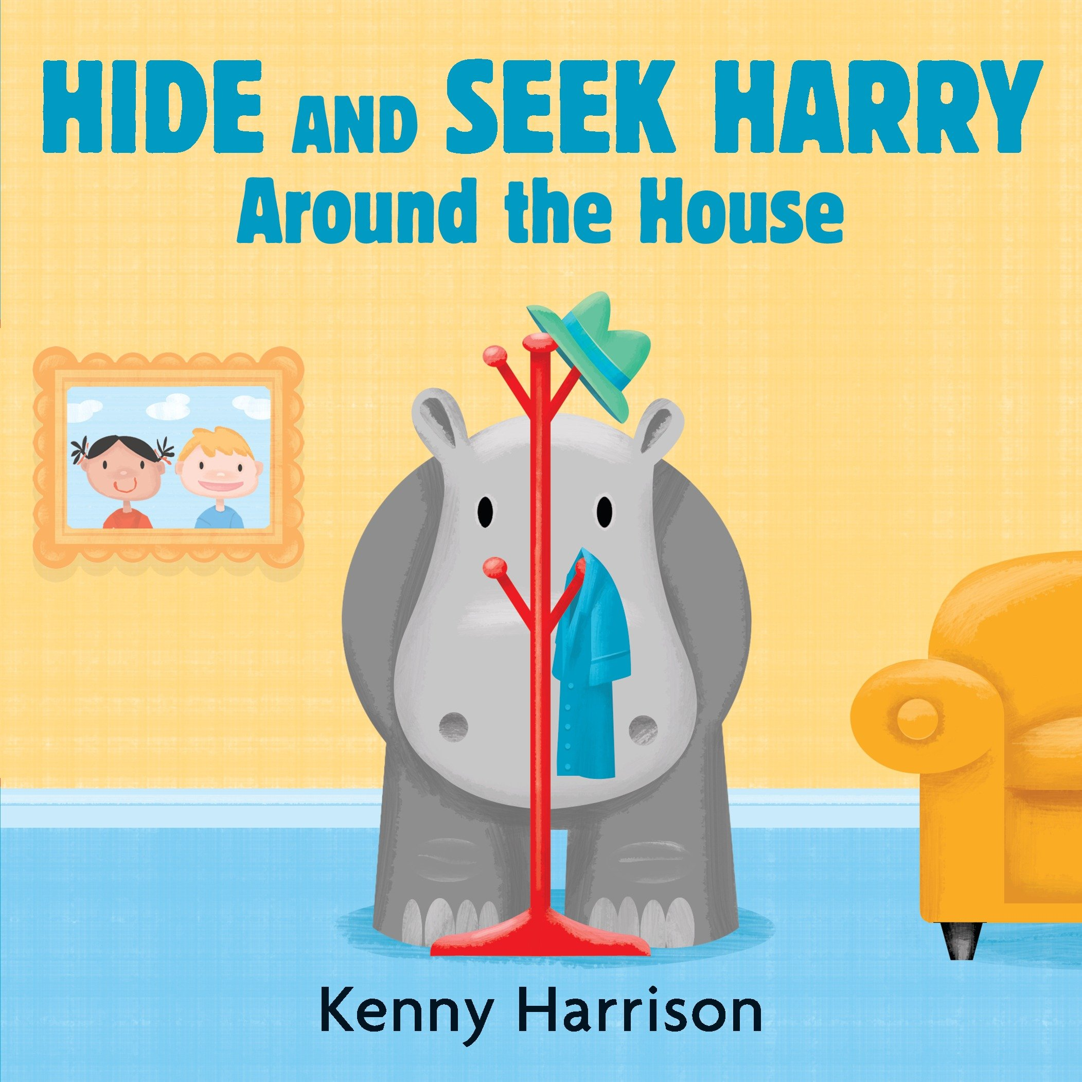 Hide and Seek Harry Around the House (Board Book)