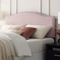 Basic Radius Upholstered Headboard, Multiple Colors and Sizes