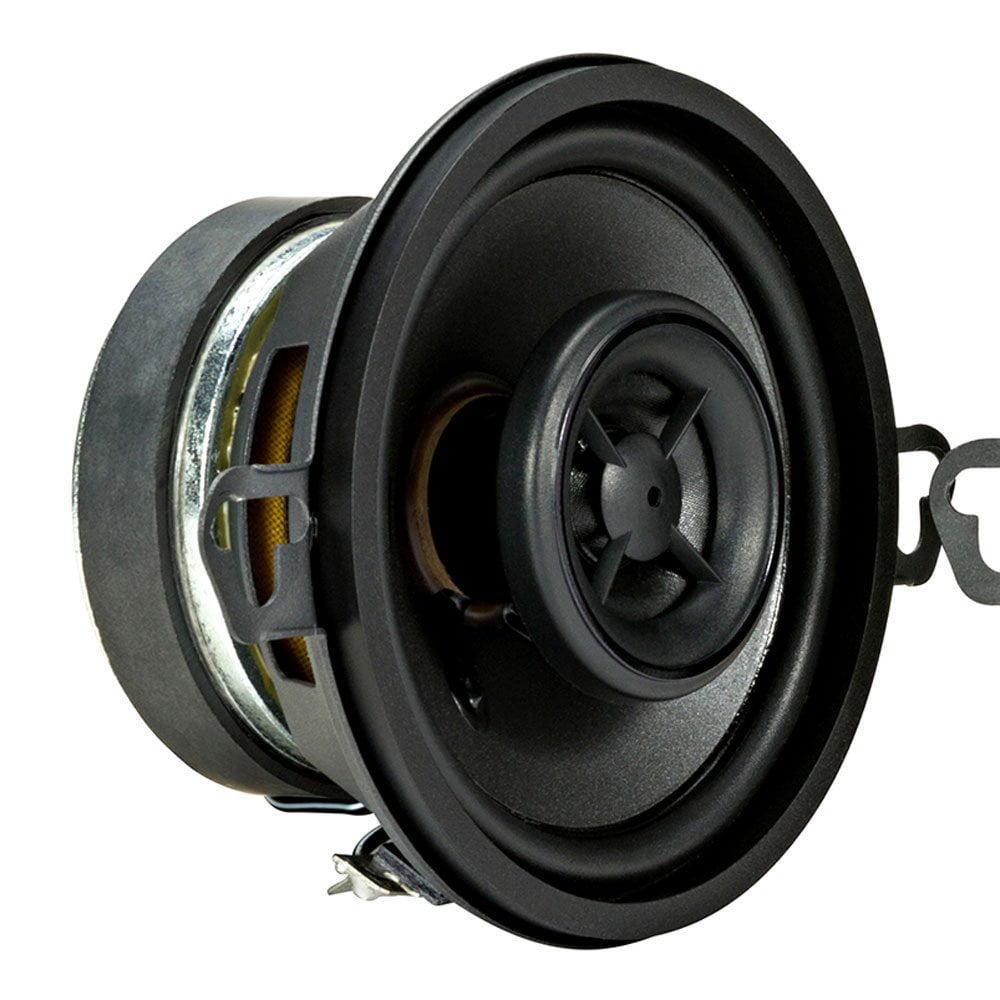 """KICKER 44KSC3504 3.5"""" (89mm) Coax Spkrs w/.5""""(13mm) tweeters, 4ohm, RoHS Compliant"""