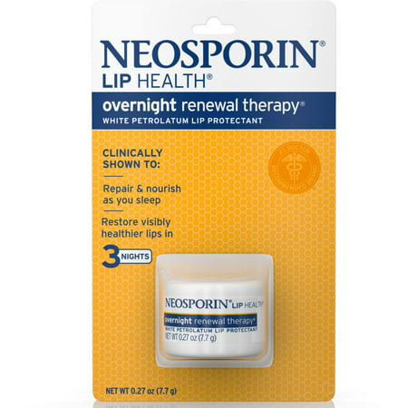 Neosporin Lip Health Overnight Renewal Therapy 0.27 oz