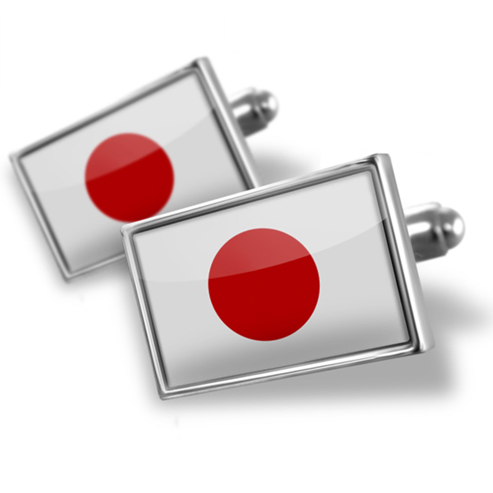 Cufflinks Japan Flag NEONBLOND by NEONBLOND