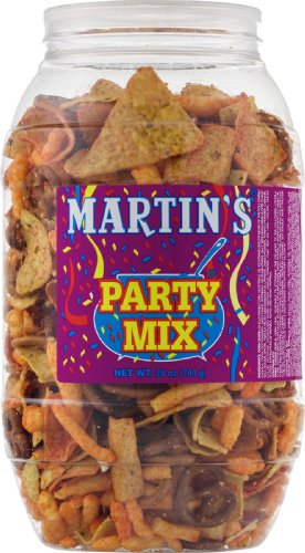 Martin's Party Mix 28.0 OZ (2 Containers) by Martin's Potato Chips, Inc.