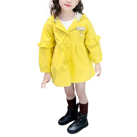 Purple Windbreaker - BOBORA Boy Girl Cotton Hooded Windbreaker Cartoon Coat Korean