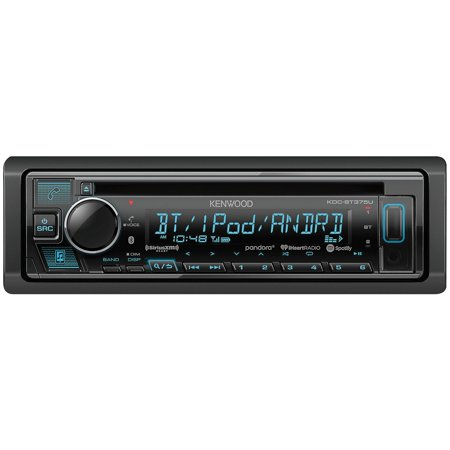 Kenwood Kdc Bt375u Single Din In Dash Cd Receiver With Bluetooth