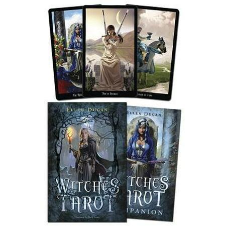 Witches Tarot - The Halloween Tarot Book