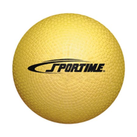X-duty Balls (Sportime Playground Ball, 5 Inches, Yellow)