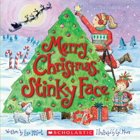 Merry Christmas, Stinky Face (Paperback) ()