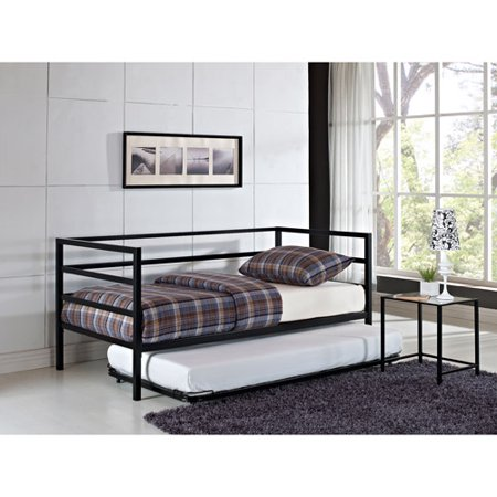 Parsons Trundle Bed  Black