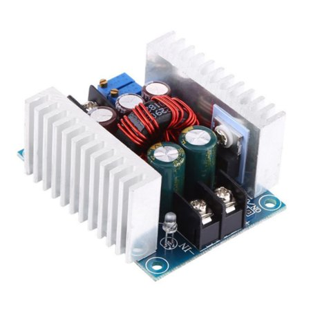 DC-DC Buck Converter, 20A 300W CC CV Step Down Module DC 6-40V to DC 1.2-36V Adjustable Voltage Constant Current Power Supply Volt Reducer Module with Short Circuit Protection