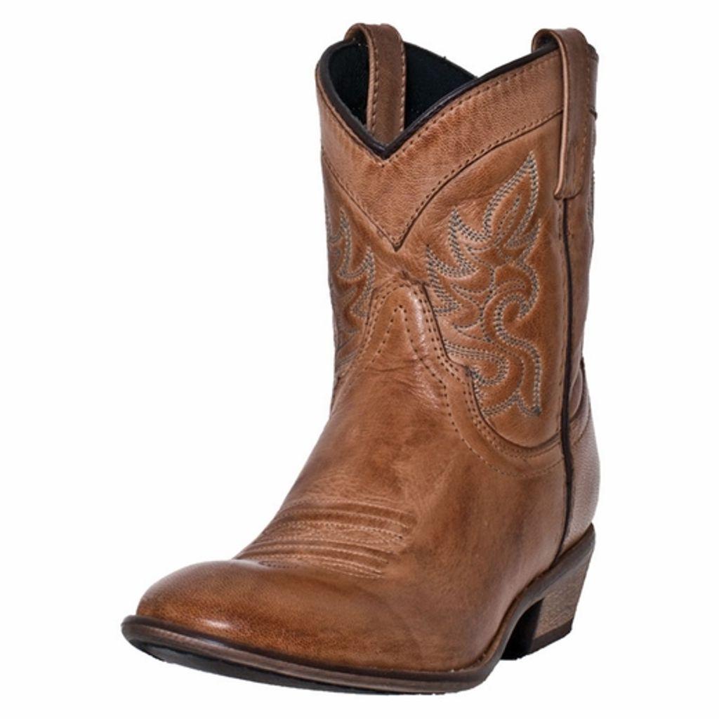 Dingo Western Boots Womens Willie Antique Collar Tan DI 862