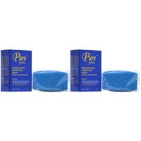 Pure Glow Exfoliating Purifying Soap 7oz (Pack of 2)