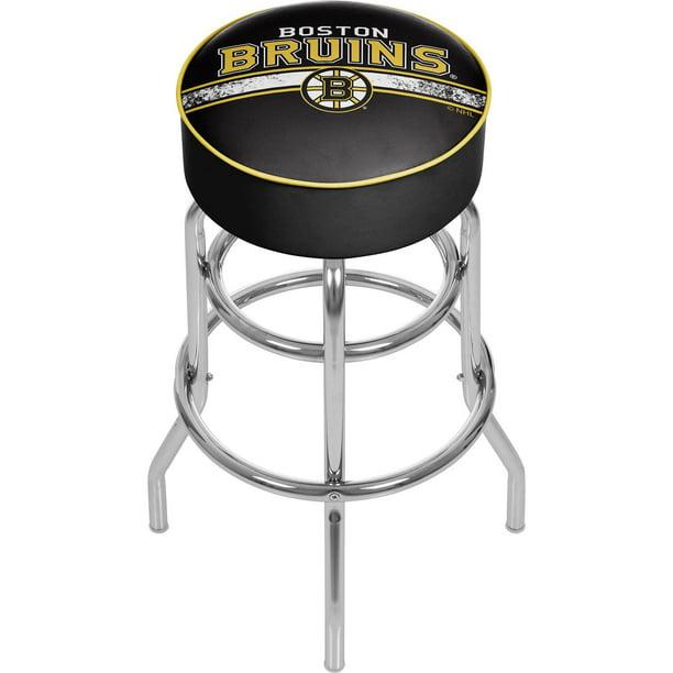 Nhl Chrome Bar Stool With Swivel Boston Bruins Walmart Com Walmart Com