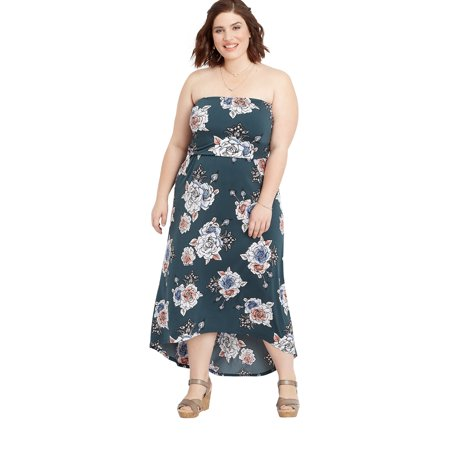 maurices - maurices Floral Print Maxi Dress - Women\'s Plus ...