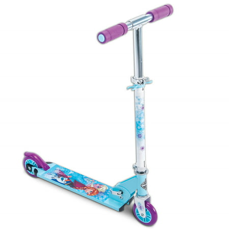 Disney Frozen Girls' 2-Wheel Inline Folding Scooter, by Huffy - Frozen Toys Walmart