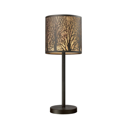 Table Lamps 1 Light With Aged Bronze Finish Steel Material Medium Base Bulb Type 20 inch 60 Watts